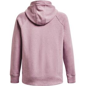 Under Armour Rival Fleece Logo Hættetrøje Damer, violet